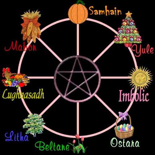 The 8 Sabbats.