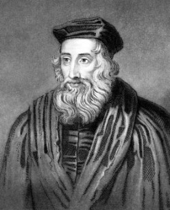 Who was John Wycliffe?