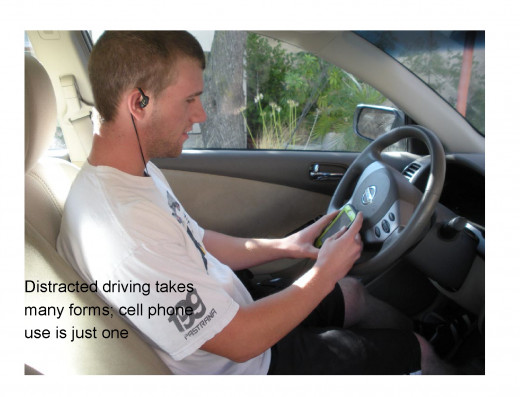 Using a cell phone while driving is not just dangerous; it's illegal
