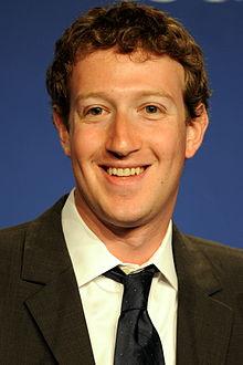 An image of Mark Zuckerberg in 2011.