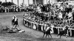 Suffragettes:  The Unfortunate Death of Emily Wilding Davison.