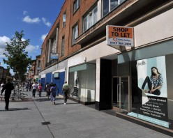 Poem: Our High Street Shops Are Gone.