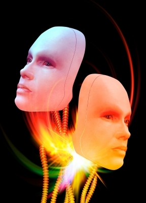 Cybernetic faces
