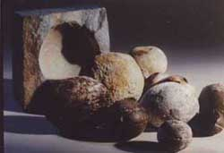 Precambrian Metal Spheres 2.8 billion years old. from VirtueScience
