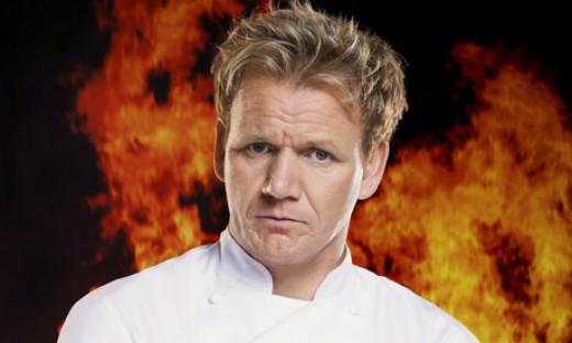 Gordon Ramsay, the outspoken celebrity chef