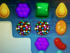 What's the official name of this chocolate candy in the video game candy crush?