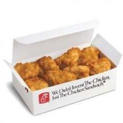 A 12-piece order of chicken nuggets has 400 calories.