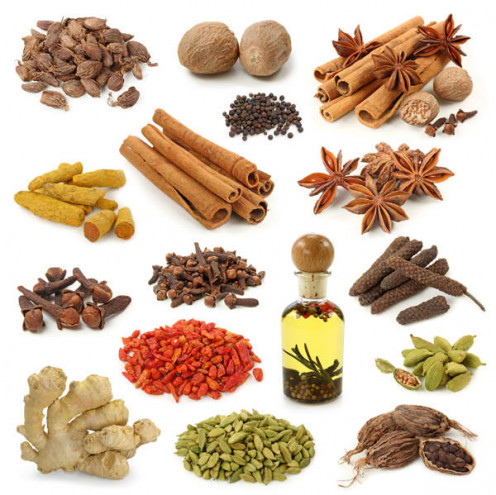 Herbs and spices add flavor to your dishes