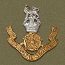 Loyal North Lancashire Regiment Badge