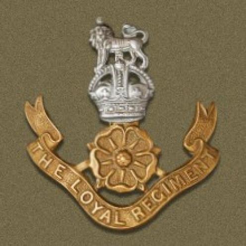 Loyal North Lancashire Regiment Badge