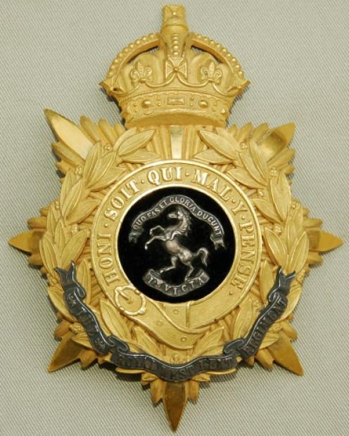 Queen's Own Royal West Kent Regimental Badge