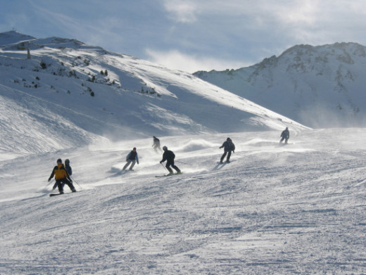 Blue Mountain is Ontario's prime skiing destination.