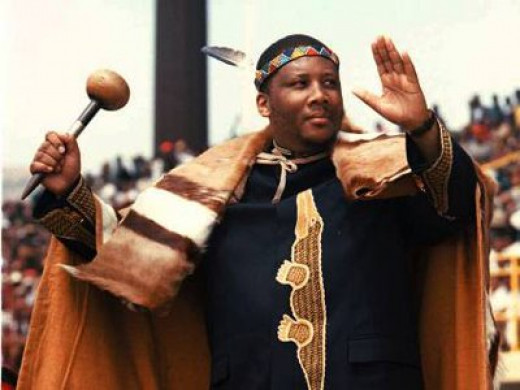 His Majesty King Letsie III of Lesotho (Follow this link to read more about Basotho and their unique cultural heritage.)
