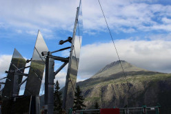 Giant Mirrors Bring Sun to Rjukan, Norway