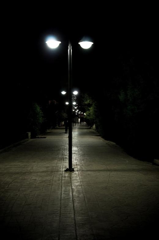 night walk from george loannou flickr.com