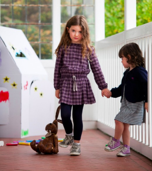 The Willow collection includes some creative play elements in cardboard: toys designed to be low-tech alternative that still focus little hands on hand/eye coordination