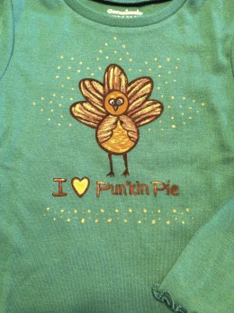 Ironed and ready for Thanksgiving!