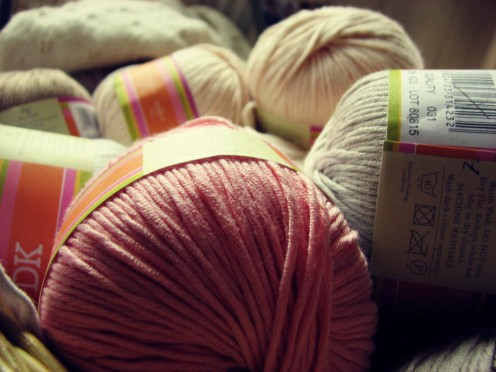 There are way too many kinds of yarn out there to buy all by yourself.