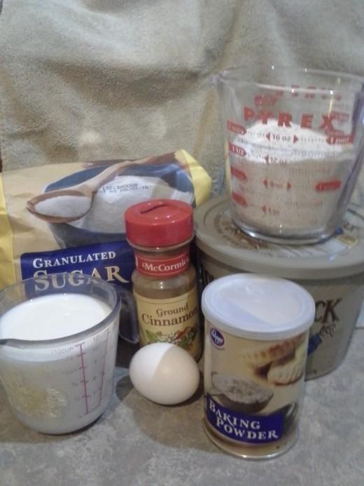 Gluten-Free Pancake Ingredients