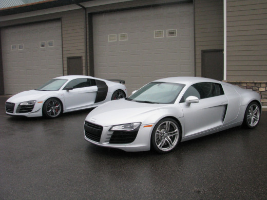 Standard R8 and R8 GT