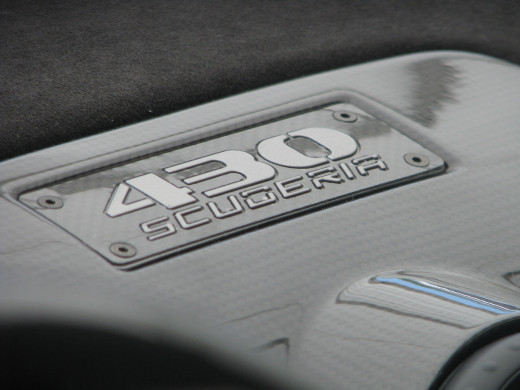 430 Scuderia dashboard badging