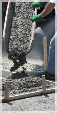 This is how your concrete should look, we know that it is hard  to match that quality if you mix it by hand, but you have to try to come close to it.