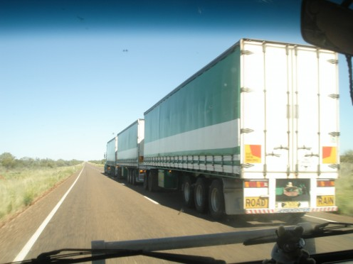 Road Train on the Barkley Tablelands ©MC06