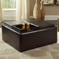 Best Leather Ottoman Coffee Tables 2014