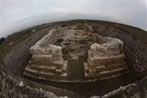 Ancient Ethiopian church ruins