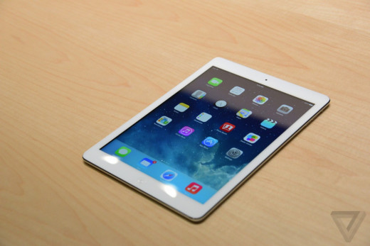 The iPad Air is the newest tablet from Apple. If you are looking for a very thin tablet (thinner than a pencil), this tablet is the thinnest and lightest model yet.