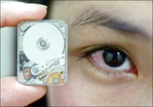 Very small HDD