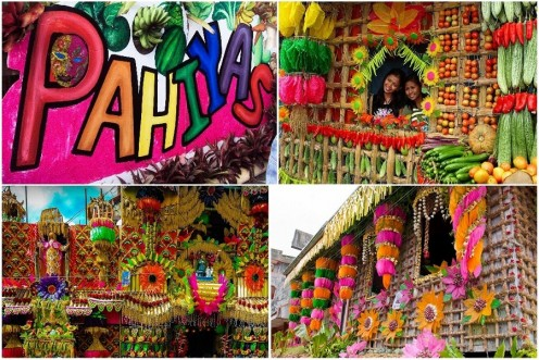 Pahiyas Festival is a thanksgiving celebration for a bountiful harvest.