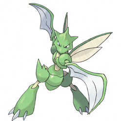 Pokémon X and Y Walkthrough, Pokémon Move Sets: Scyther