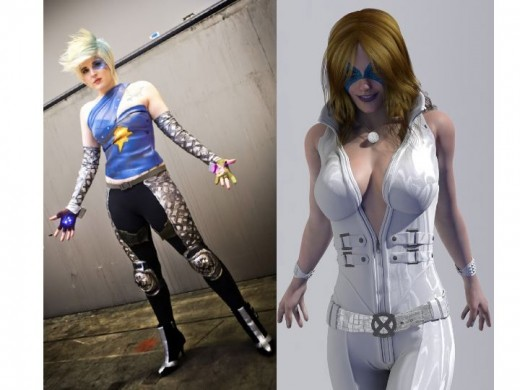 Alternate Dazzler Cosplay Costumes