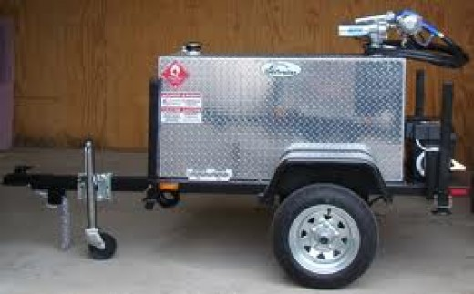 One of the earlier Gas Trailer models.