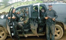 Members of the Knights Templar cartel