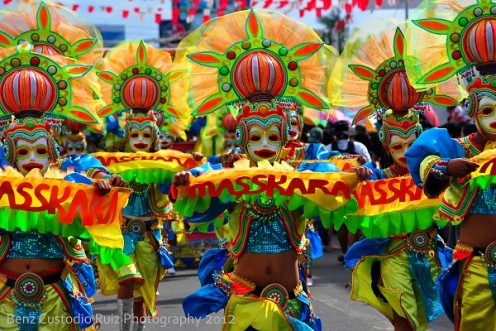 Never miss the street dancing competition during the Masskara Festival!