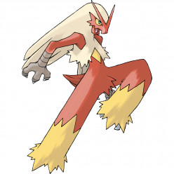 Pokémon X and Y Walkthrough, Pokémon Move Sets: Blaziken