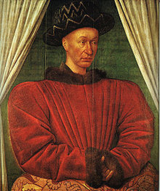 The English nobles didn't like Charles VII being crowned King of France