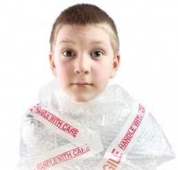 There are some children who are under parental constraints.They aren't allowed to explore their environment as it is dangerous & they will get HURT. If they do explore, it IS to be done under close adult supervision.