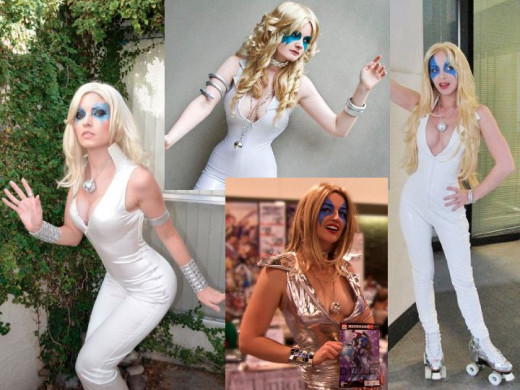 Disco Dazzler Cosplay Costume