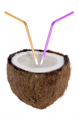 Coconut water so good, it tastes like straws are directly inserted into the coconut.