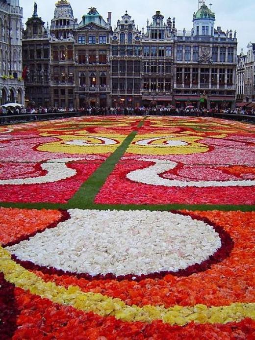 Grand Place - Flower Carpet