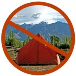 You don't need to live in a tent to be green