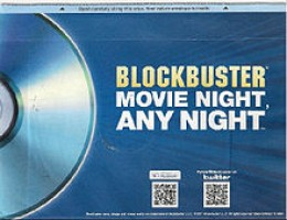 """Blockbuster's """"Rent By Mail"""" service (2004) attempted to head off the threat posed by Netflix"""