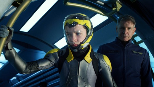 Asa Butterfield is Ender and Harrison Ford is Colonel Hiram Graff in the big screen adaptation of the worldwide best seller Ender's Game