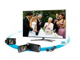 Have movies and pictures on a USB drive? With ConnectShare Movie, easily view that content right on the TV by simply plugging the drive into the USB port and enjoy on the big screen.