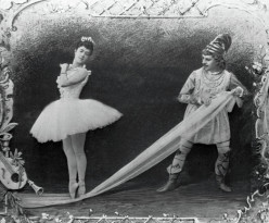 "The original performance of  ""The Nutcracker Suite,"" in December 1892, in St. Petersburg, Russia."