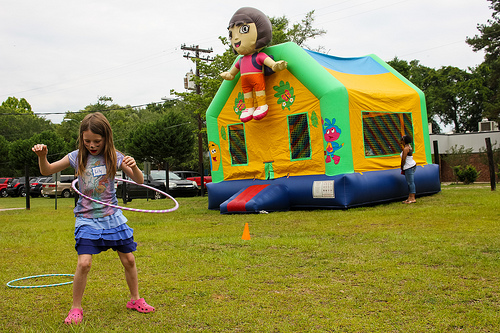 Dora Moonwalk Bounce House
