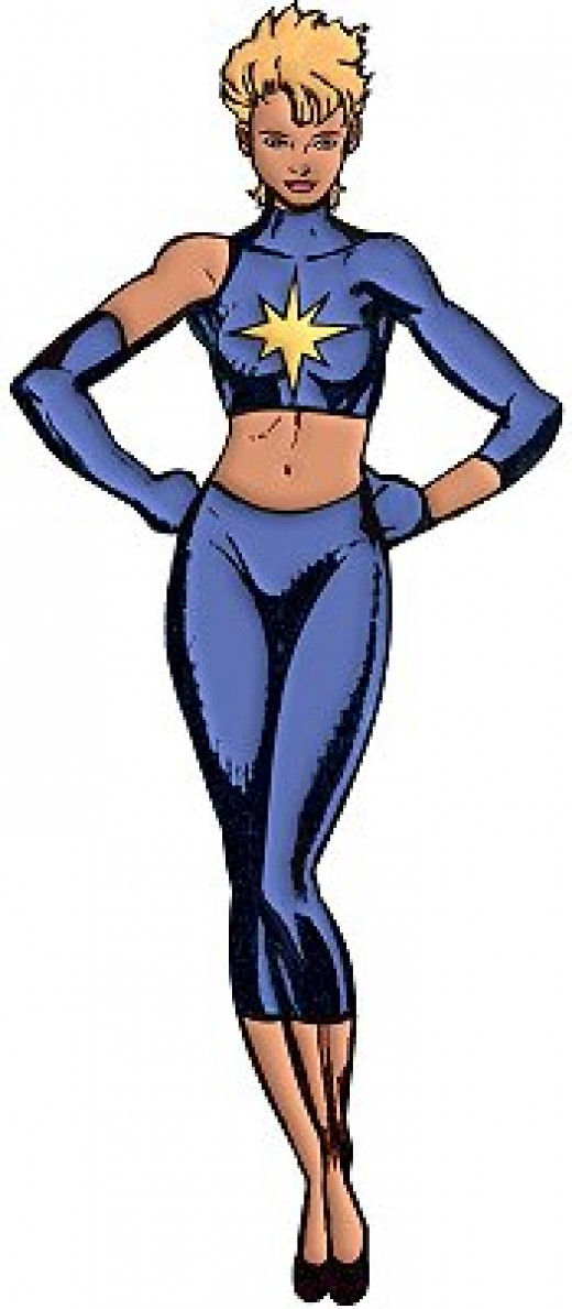 Dazzler Two Piece Costume